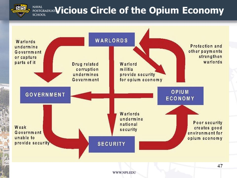 Vicious Circle of the Opium Economy