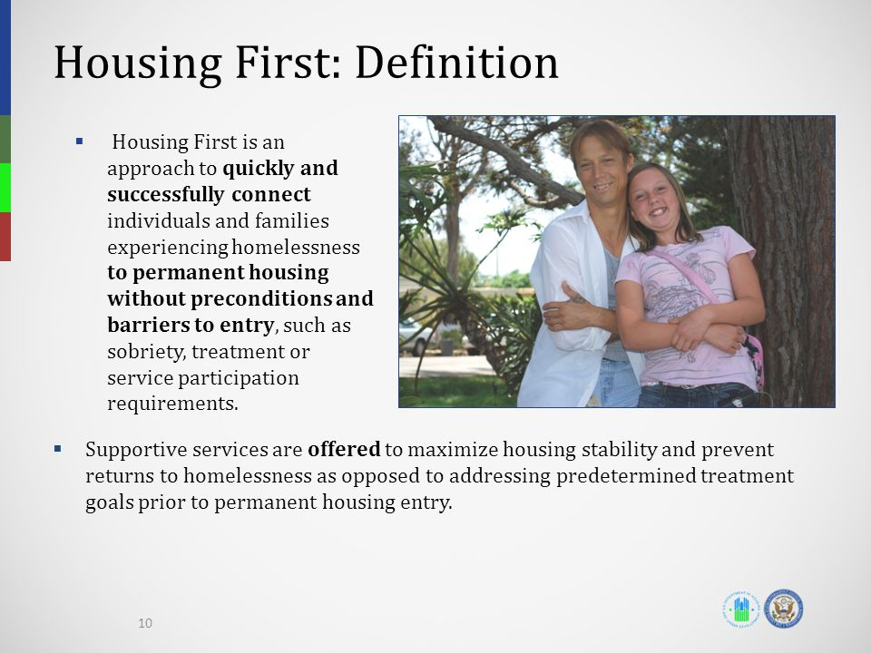 Housing First: Definition