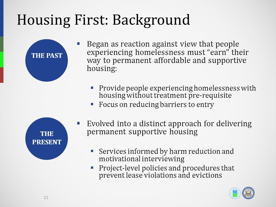 Housing First: Background