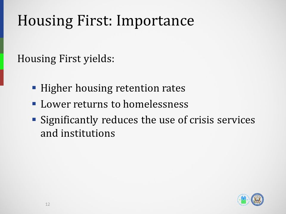 Housing First: Importance