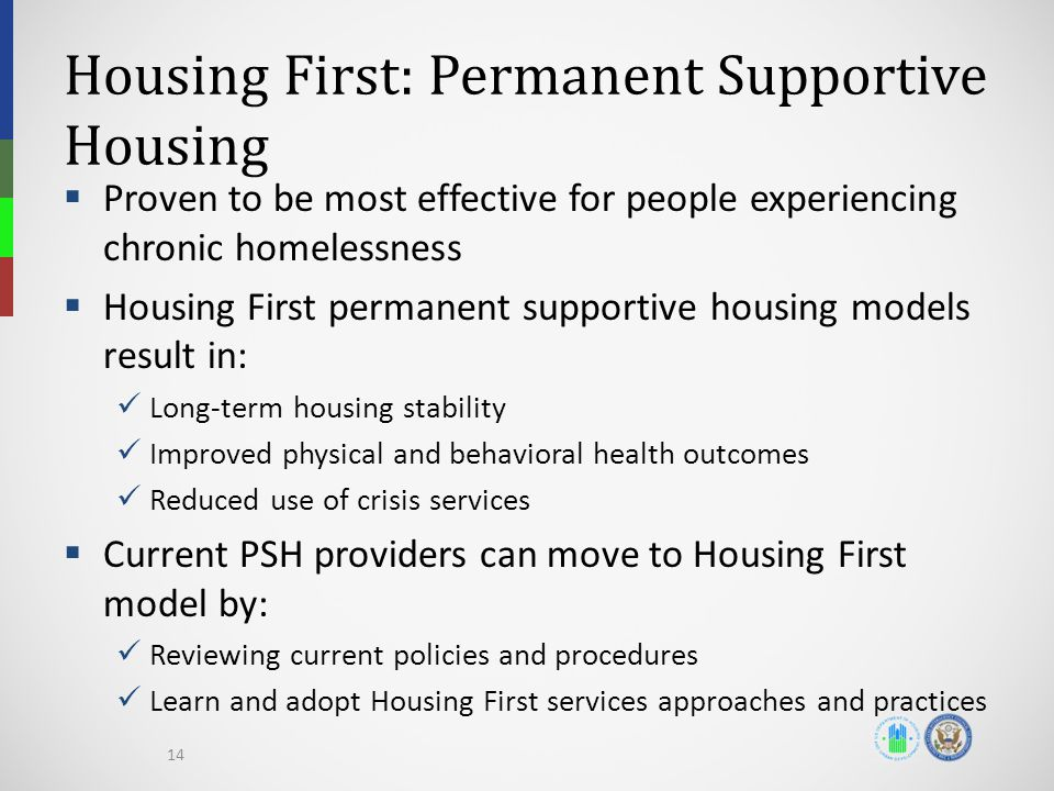 Housing First: Permanent Supportive Housing