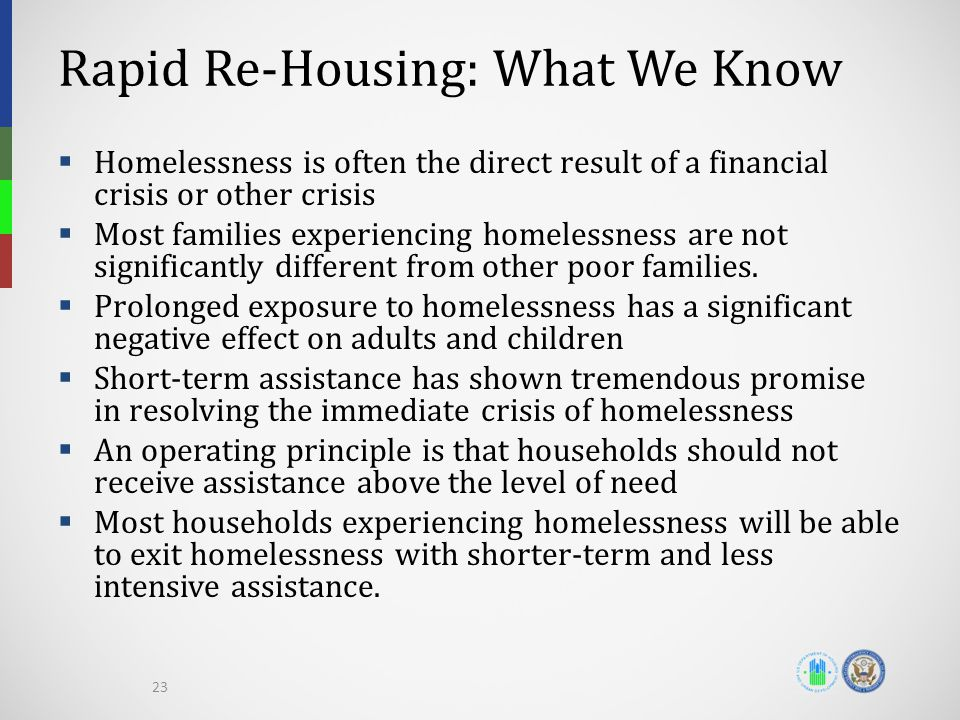 Rapid Re-Housing: What We Know