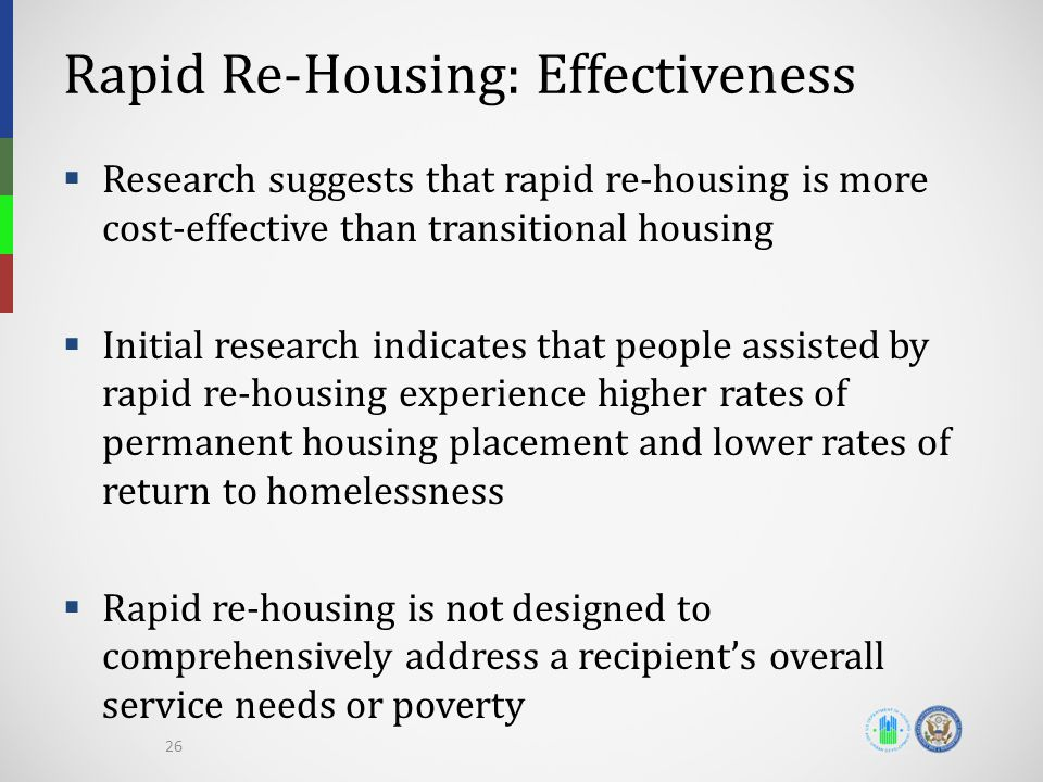 Rapid Re-Housing: Effectiveness