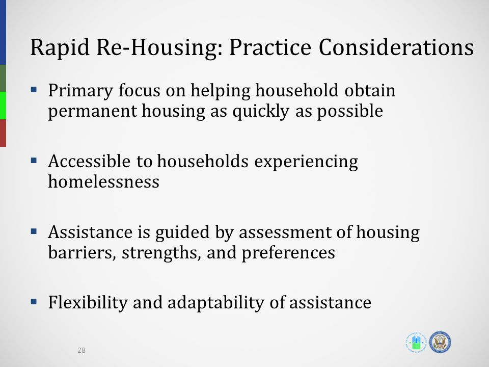 Rapid Re-Housing: Practice Considerations