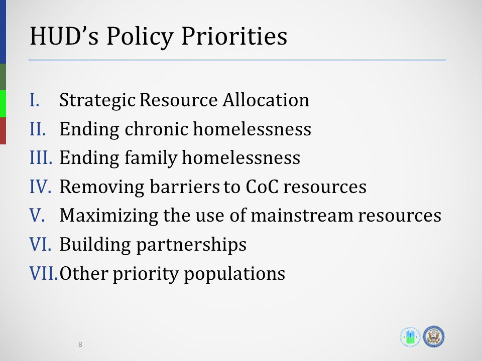 HUD's Policy Priorities