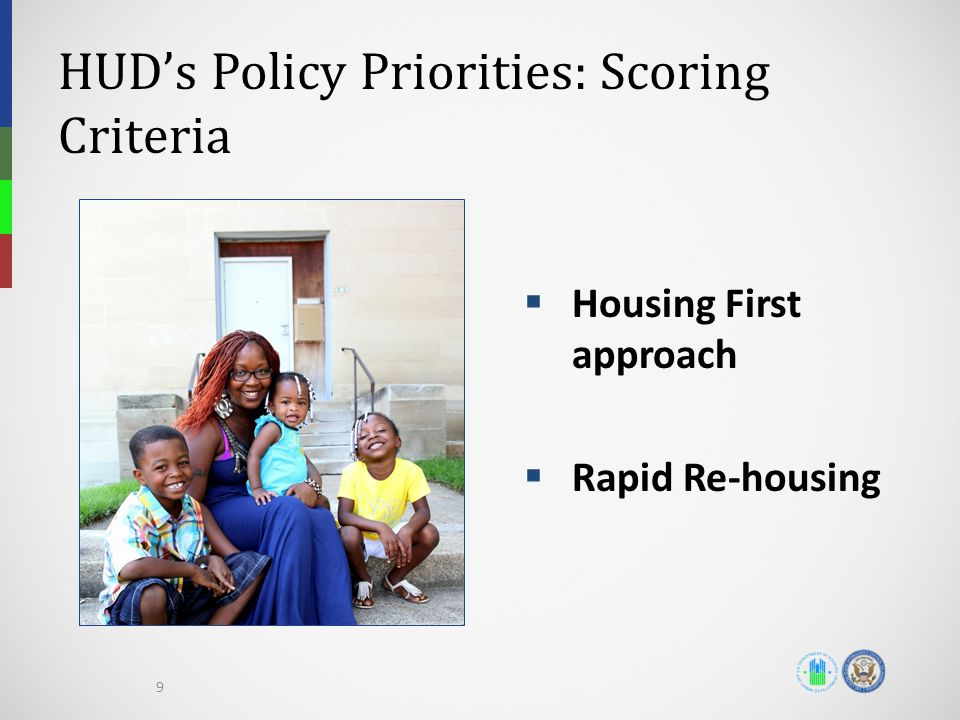 HUD's Policy Priorities: Scoring Criteria