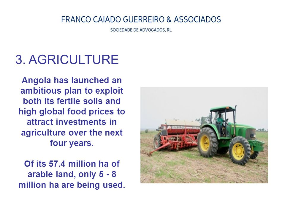 3. AGRICULTURE