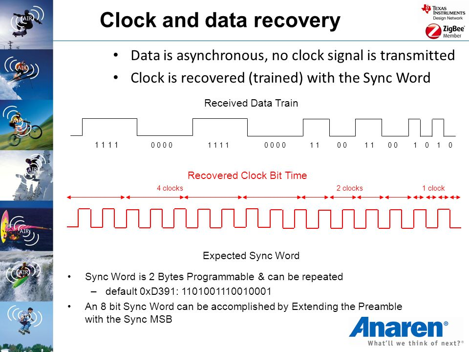 Clock and data recovery