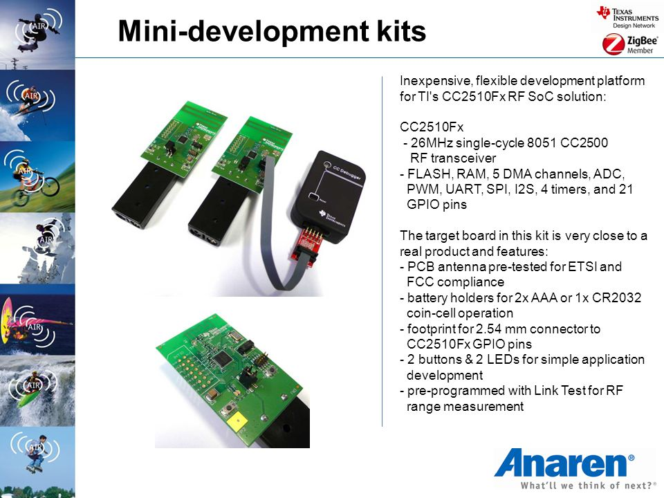 Mini-development kits