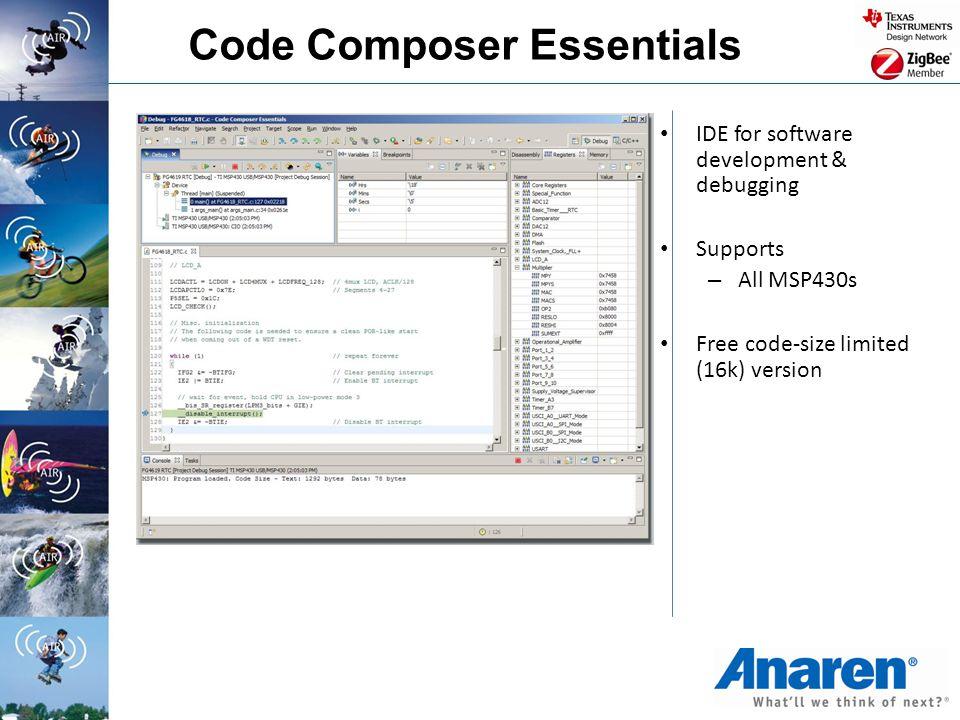 Code Composer Essentials