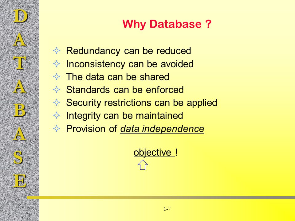 Why Database Redundancy can be reduced Inconsistency can be avoided
