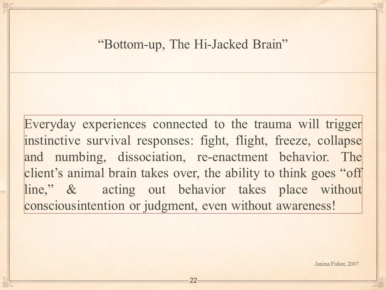 Bottom-up, The Hi-Jacked Brain