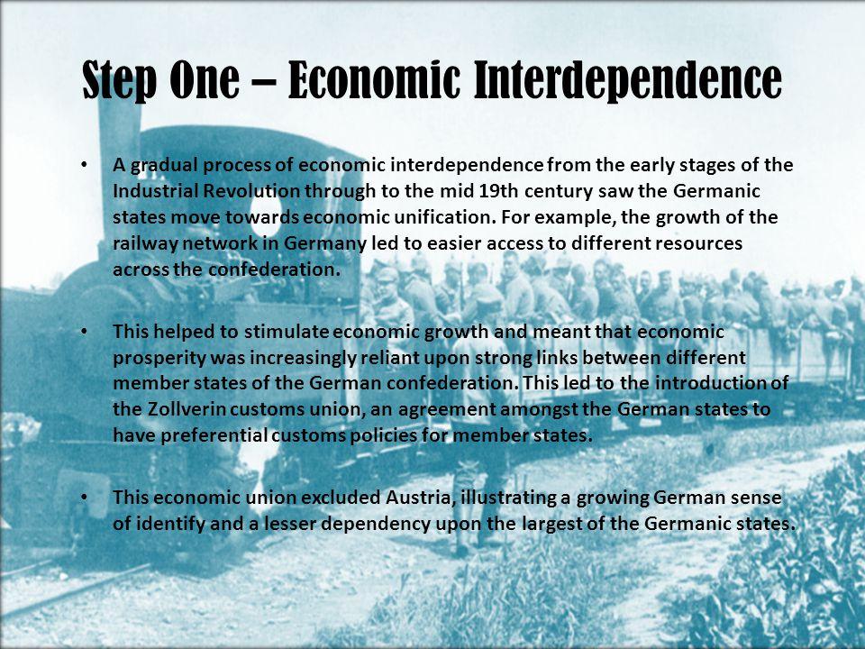 Step One – Economic Interdependence