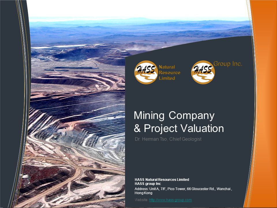 Mining Company & Project Valuation