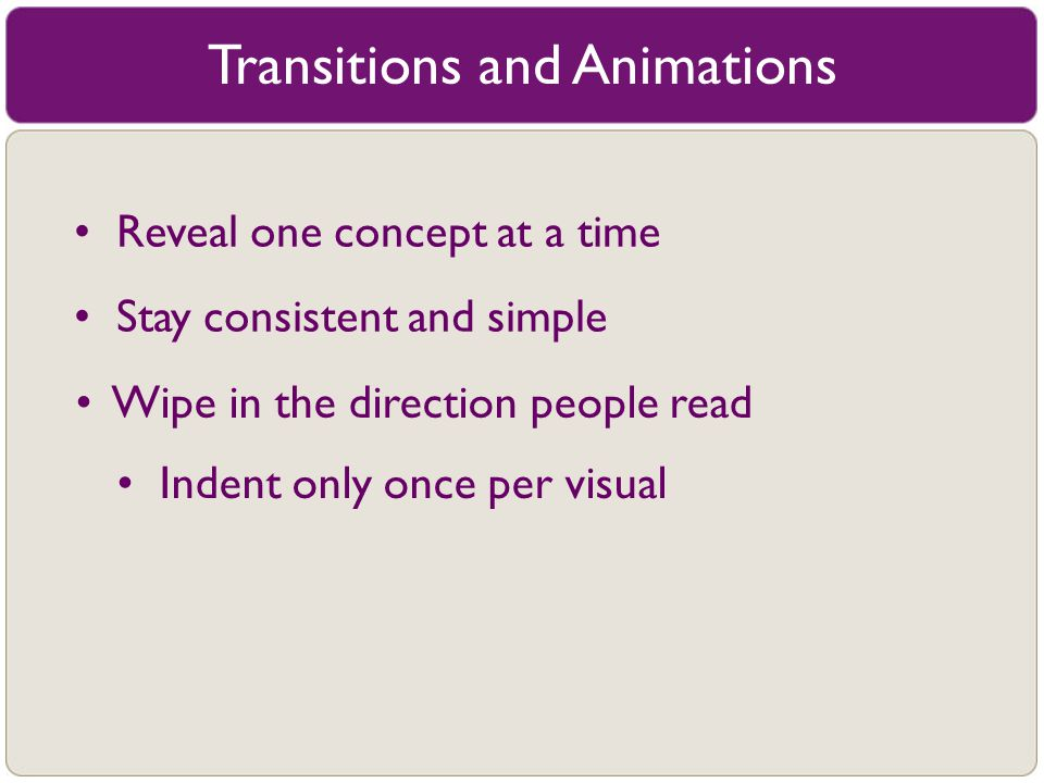 Transitions and Animations