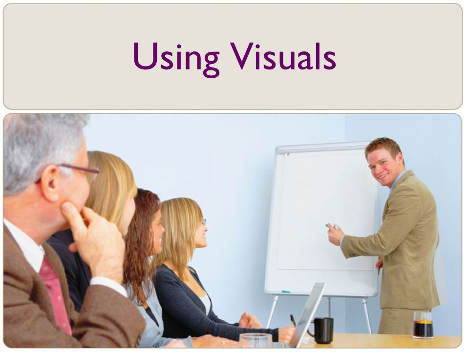 Using Visuals