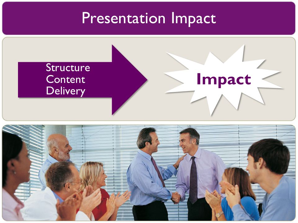 Presentation Impact Structure Content Delivery Impact