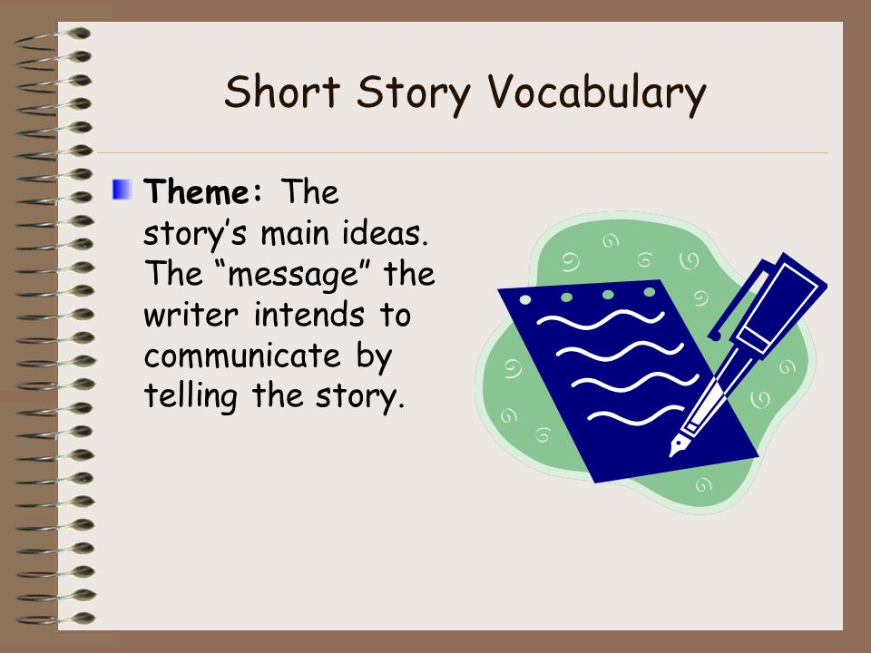 grade 9 short story vocabulary Grade 9-10 unit 1  in all instances, background knowledge, key vocabulary  and critical language  identify a theme or central idea of poems and short  stories.