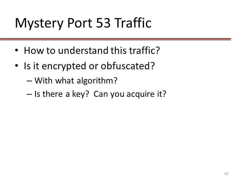 Mystery Port 53 Traffic How to understand this traffic