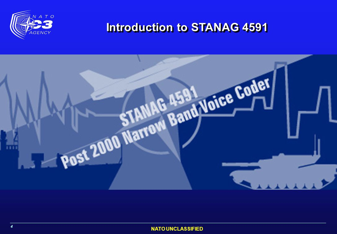 Introduction to STANAG 4591
