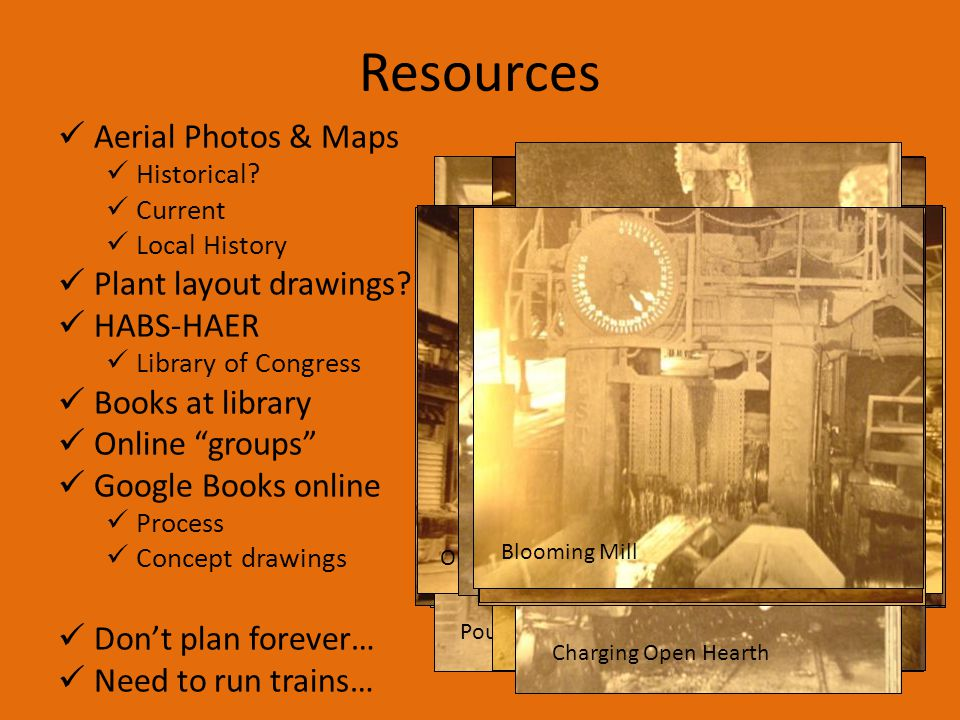 Resources Aerial Photos & Maps Plant layout drawings HABS-HAER