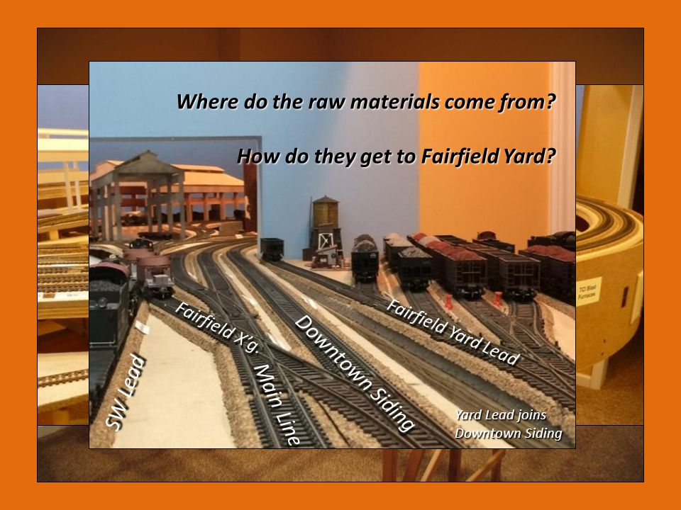 Where do the raw materials come from
