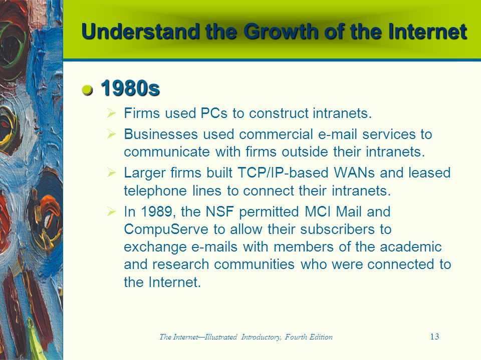 Understand the Growth of the Internet