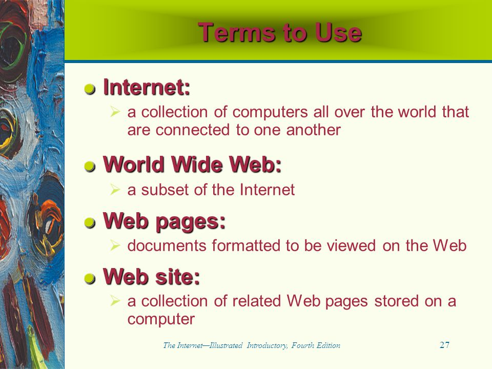 The Internet—Illustrated Introductory, Fourth Edition