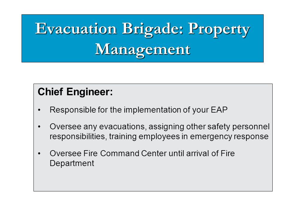 Evacuation Brigade: Property Management