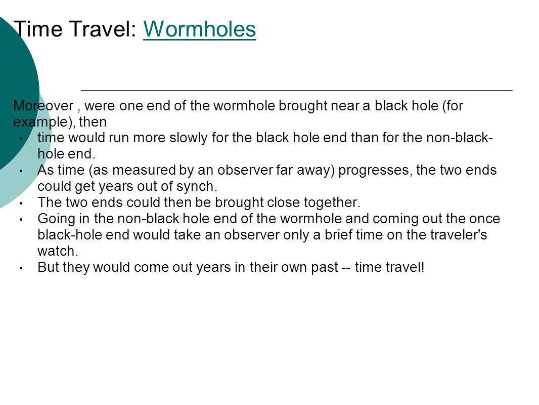 Time Travel: Wormholes