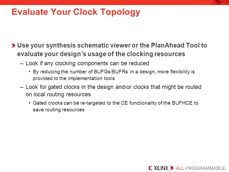 Evaluate Your Clock Topology