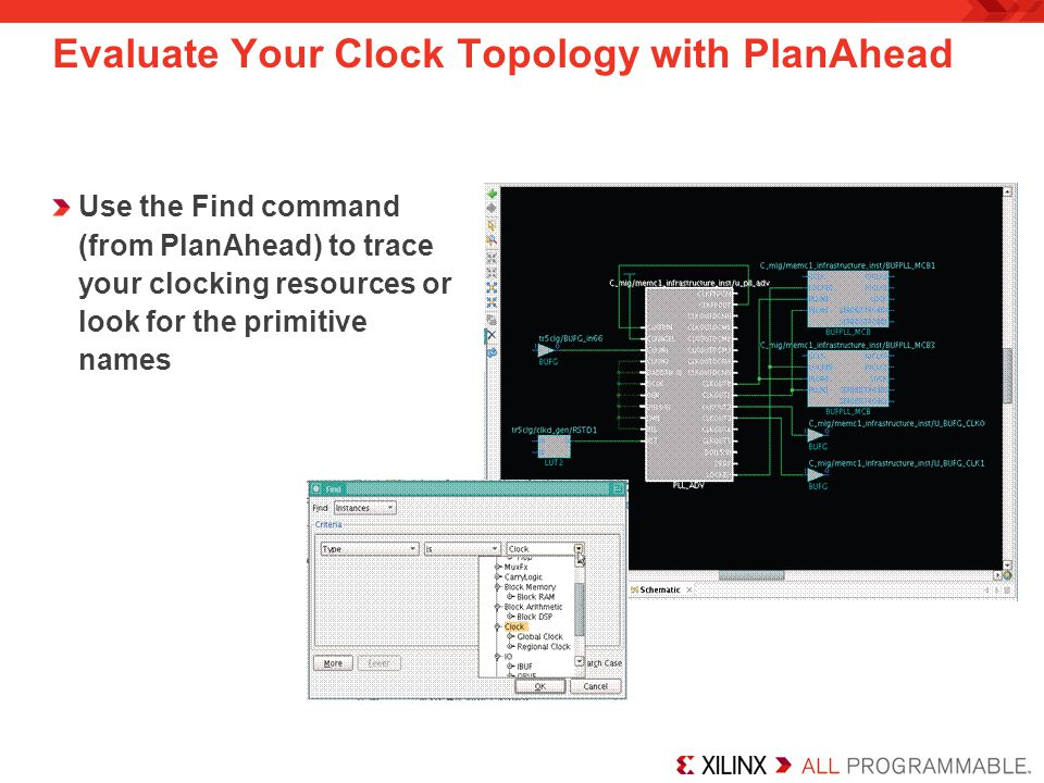 Evaluate Your Clock Topology with PlanAhead