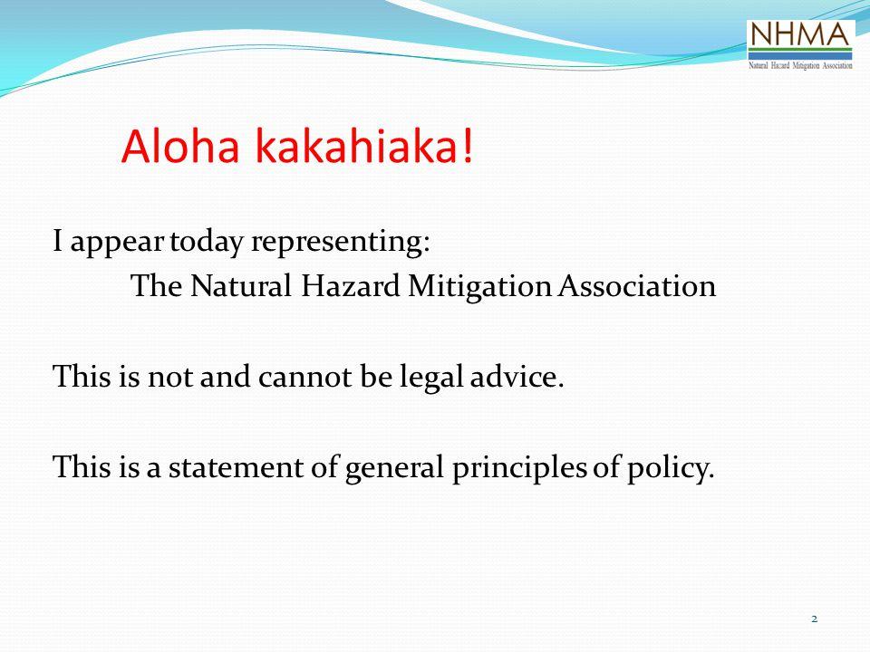 Aloha kakahiaka!