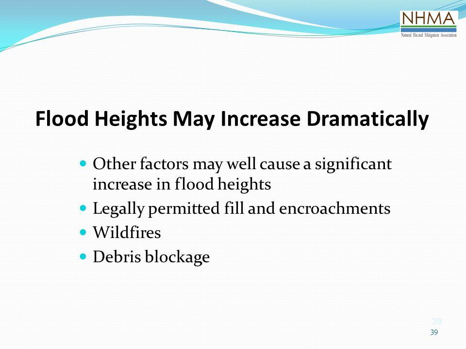 Flood Heights May Increase Dramatically