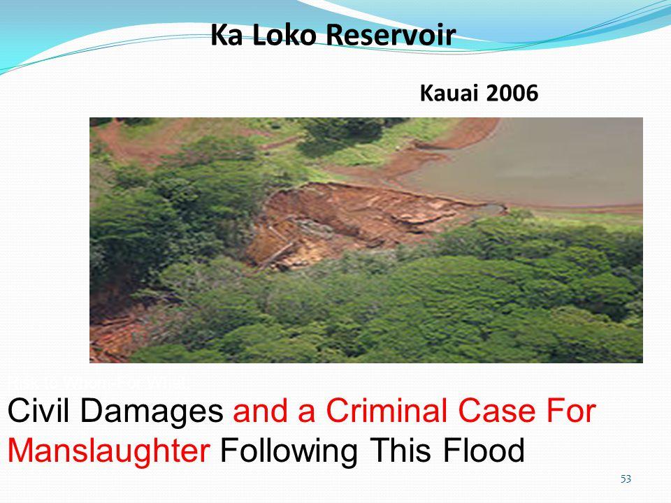Ka Loko Reservoir Kauai 2006