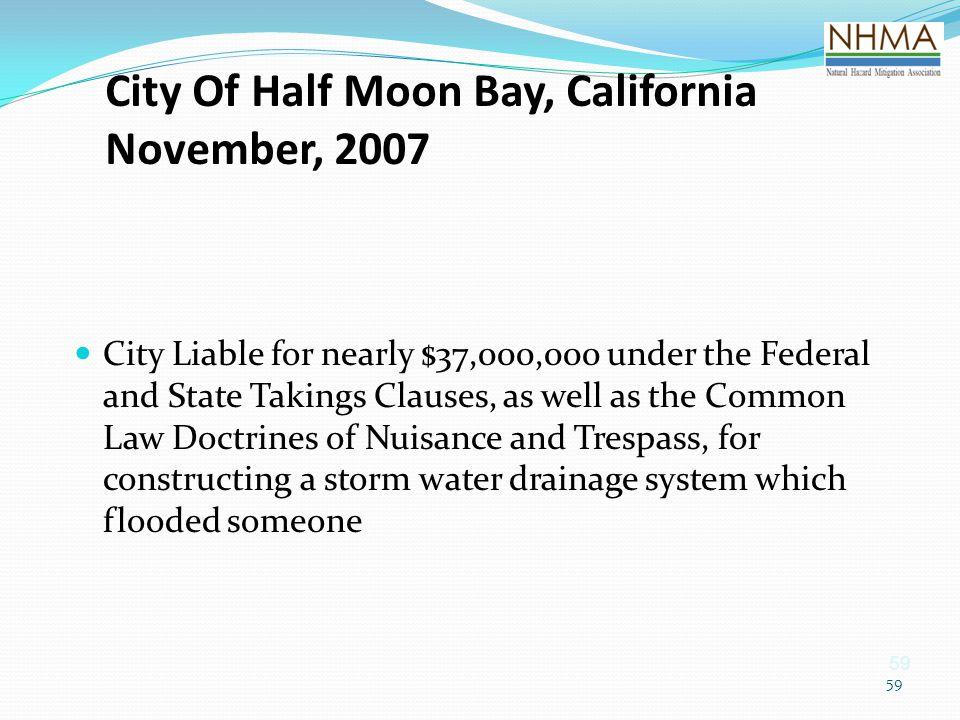 City Of Half Moon Bay, California November, 2007