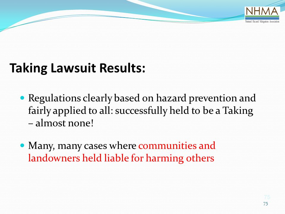 Taking Lawsuit Results: