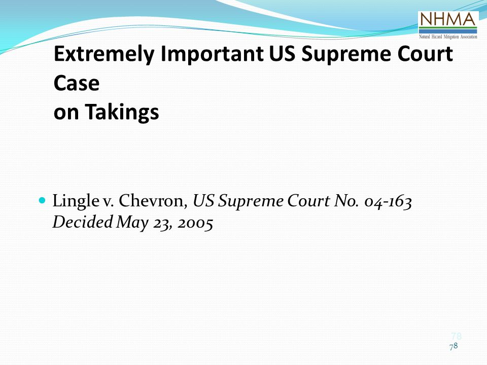 Extremely Important US Supreme Court Case on Takings
