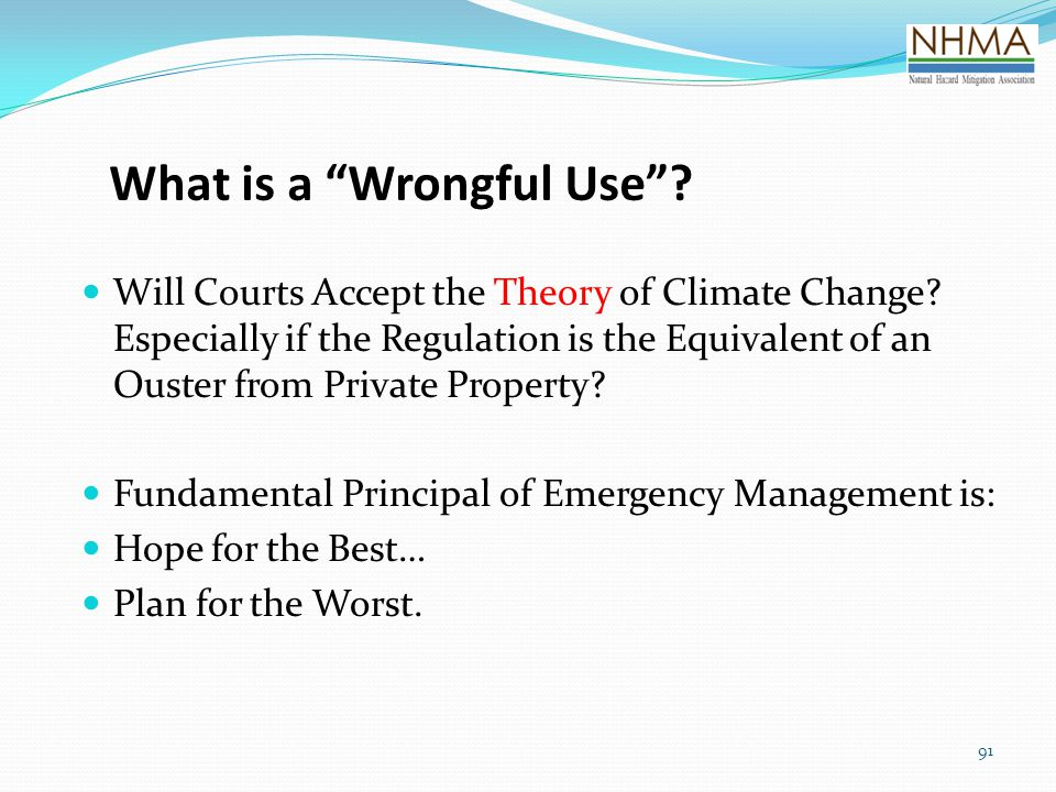 What is a Wrongful Use