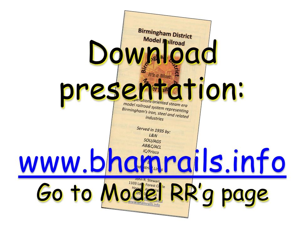 Download presentation: