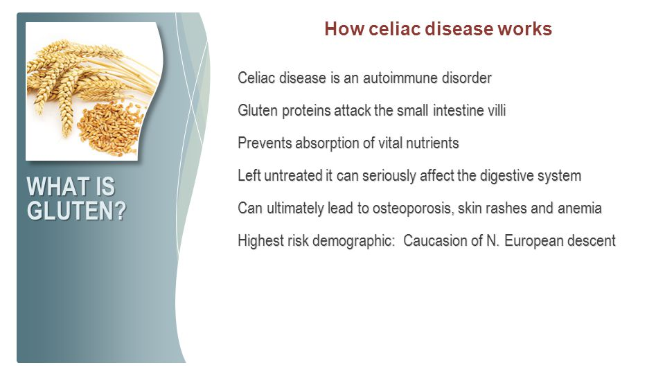 How celiac disease works