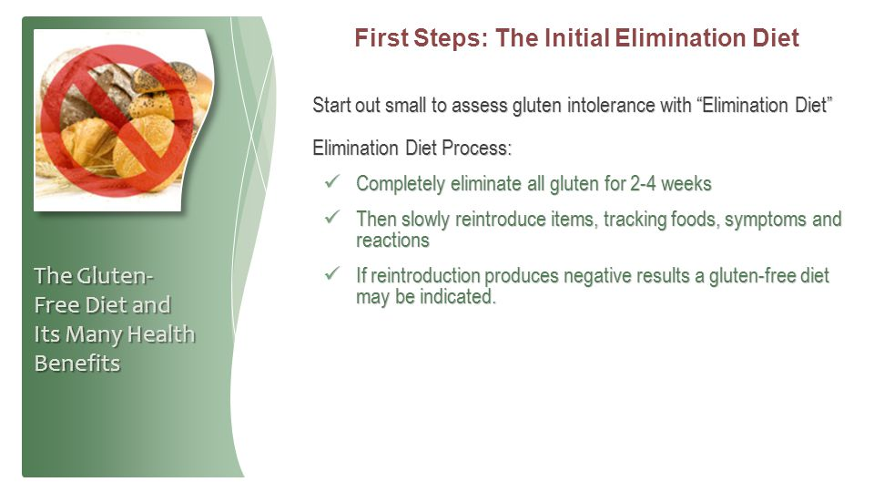 First Steps: The Initial Elimination Diet