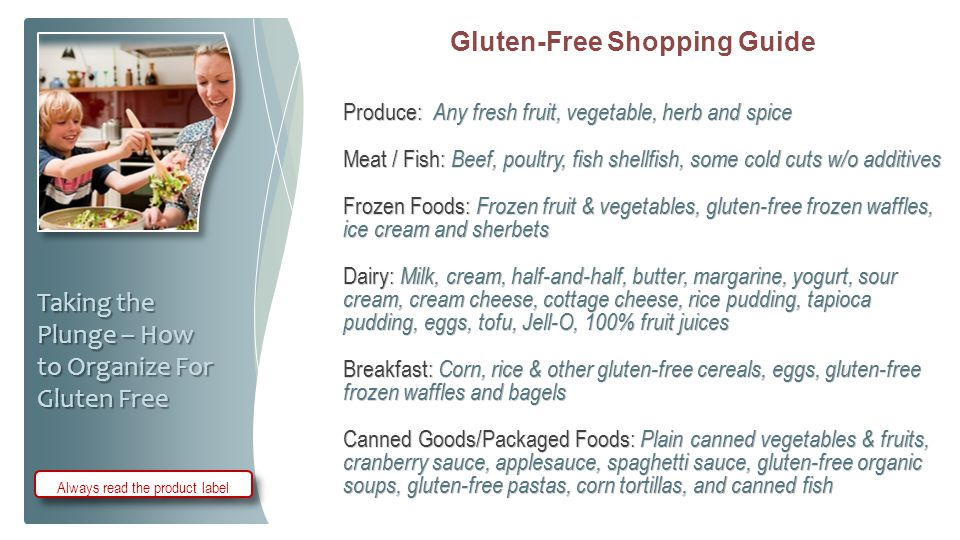 Gluten-Free Shopping Guide
