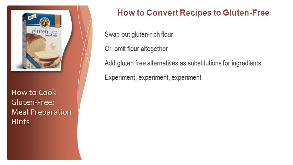 How to Convert Recipes to Gluten-Free