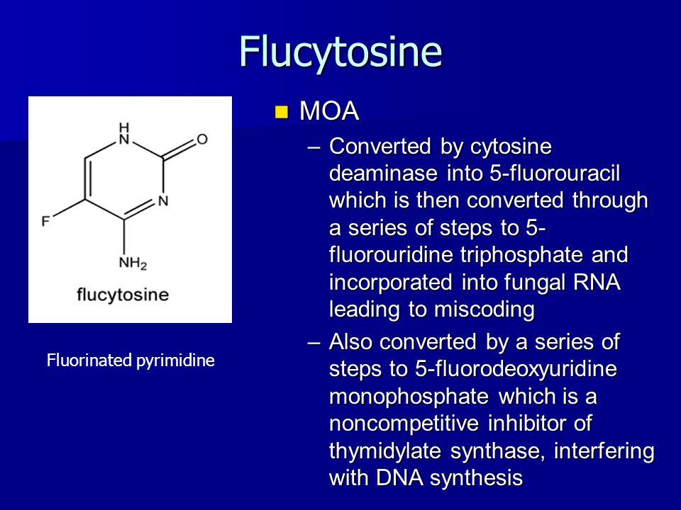 Flucytosine MOA.