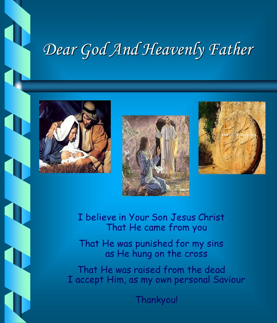 Dear God And Heavenly Father