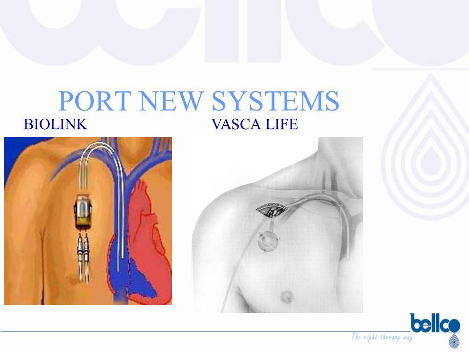 PORT NEW SYSTEMS BIOLINK VASCA LIFE