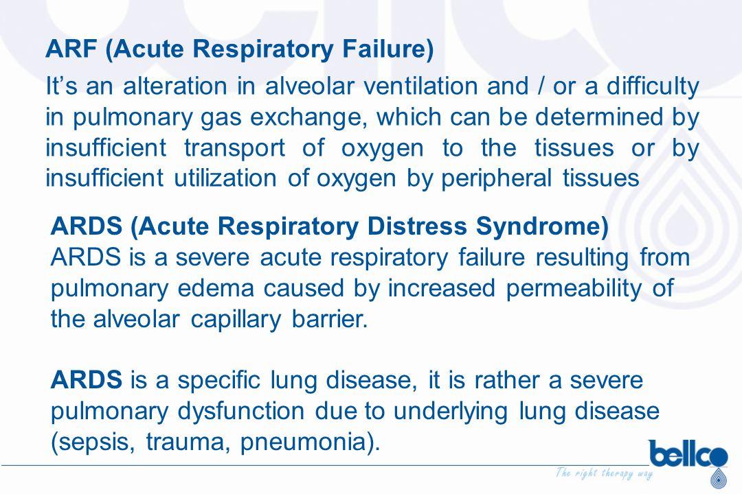 ARF (Acute Respiratory Failure)