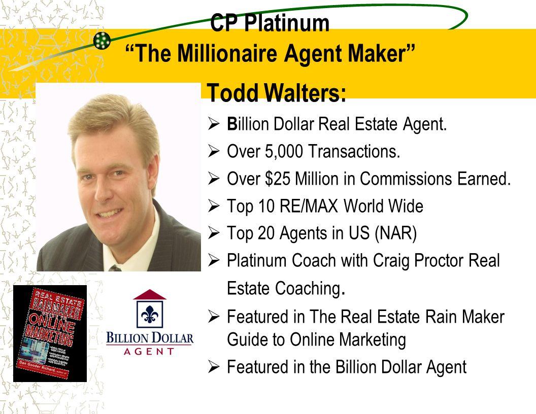 CP Platinum The Millionaire Agent Maker