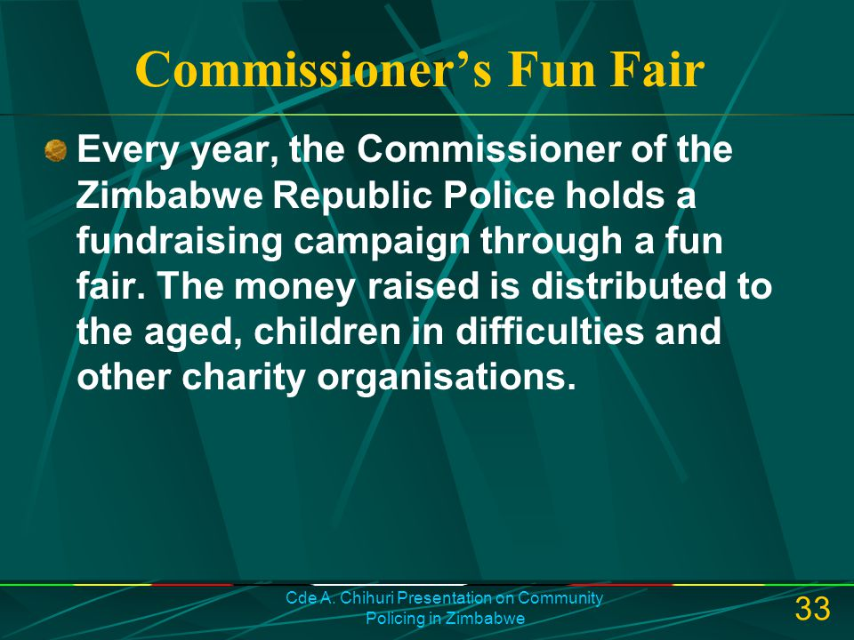 Commissioner's Fun Fair